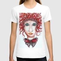 scandinavian T-shirts featuring THE SCANDINAVIAN WOMAN  / ORIGINAL DANISH DESIGN bykazandholly  by by Kaz & Holly