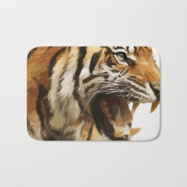 Royal tiger Bath Mat