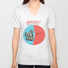 The 47% of America Romney Doesn't Care About Unisex V-Neck