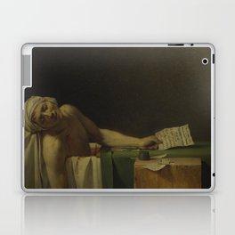 Death of Marat Laptop & iPad Skin