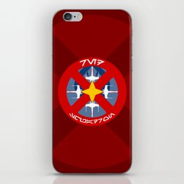Red Squadron (Alliance) iPhone Skin