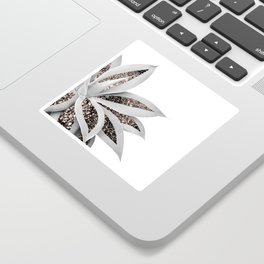 Agave Finesse Glitter Glam #1 #tropical #decor #art #society6 Sticker