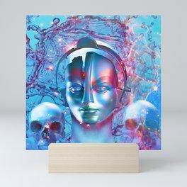Robot Transcendence Mini Art Print