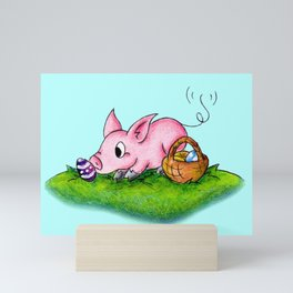 Egg Hunter Mini Art Print