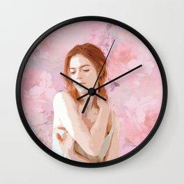 Rose Leslie Wall Clock