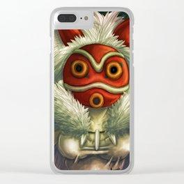 Mononoke Hime Clear iPhone Case
