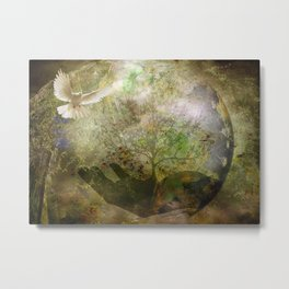 Trees For Peace Metal Print