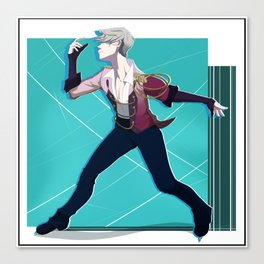 Victor Nikiforov - Stay close to me Canvas Print