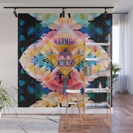 flowers and bees Wall Mural