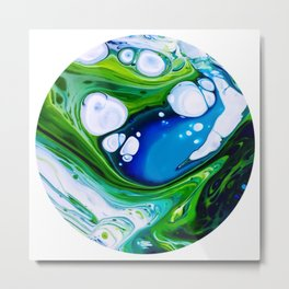 Rock Pool Metal Print