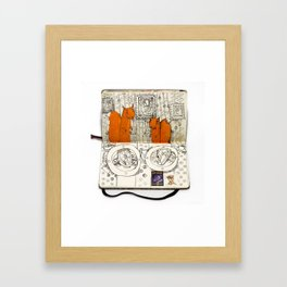 The Last Supper (Squirrel) Framed Art Print