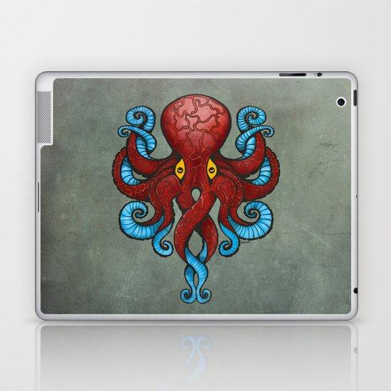Red Dectopus Laptop & iPad Skin