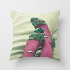 The End of the Night Throw Pillow