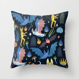 Spook Night Throw Pillow