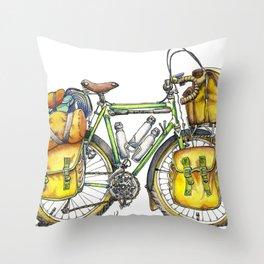 Grand Tourer Throw Pillow