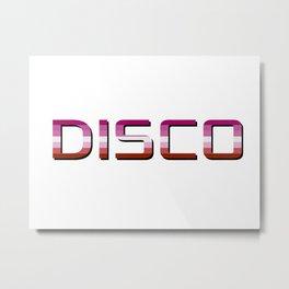 Disco Lesbian Metal Print