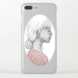 Russian Red Clear iPhone Case