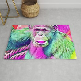 SmartMix Animal - chimpanzee 1 Rug