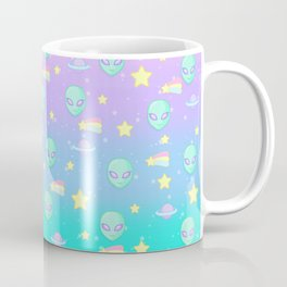 Fairy Kei Kawaii Aliens Coffee Mug