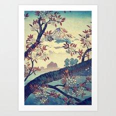 Suidi the Heights Art Print