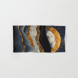 Metallic Mountains Hand & Bath Towel