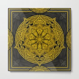 Dreaming Mandala Metal Print
