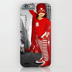 Candy Cane Girl Slim Case iPhone 6s