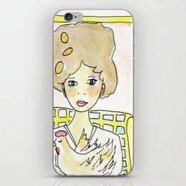 Una gallina domani iPhone Skin