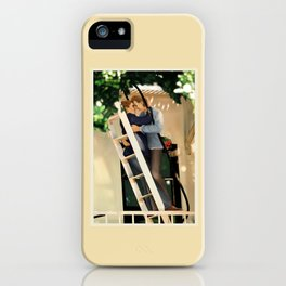 WE SAVE EACH OTHER iPhone Case