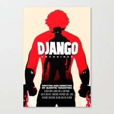 Django Unchained Poster Canvas Print