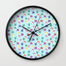 Holiday Mints Wall Clock