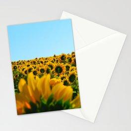 Do as the sunflowers do Stationery Cards