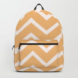 Zig Zag Yellow Summer Pattern Backpack