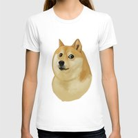 doge T-shirts featuring Doge by Brad Collins Art & Illustration
