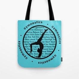 Gymnastic Circle blue Tote Bag