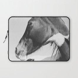 Vertical Horse Photograph Laptop Sleeve