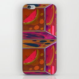 Virtual Experience of Tropical Tlavors in the Projection Room iPhone Skin