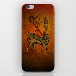Egyptian sign iPhone Skin