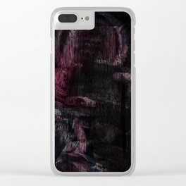 Mother (pink variant) Clear iPhone Case
