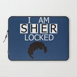 I am Sherlocked Laptop Sleeve
