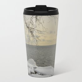 Curves of the Silver Birch by Teresa Thompson Travel Mug