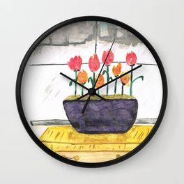 The View from the Office Wall Clock