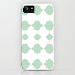 Minty_Geo_Love_ iPhone Case