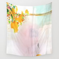 Abstract Mirage Wall Tapestry