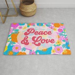 Peace & Love Rug