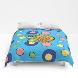 snail bubbles Comforters
