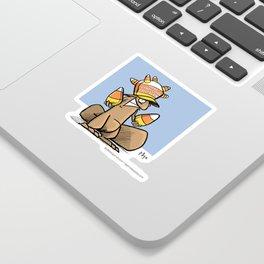 Make Candy Corn Great Again Sticker