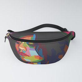 beautiful frizzy girl Fanny Pack