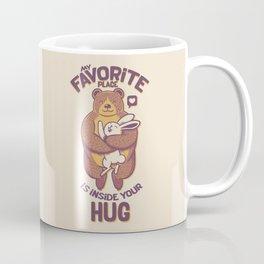 My Favorite Place Is Inside Your Hug Coffee Mug
