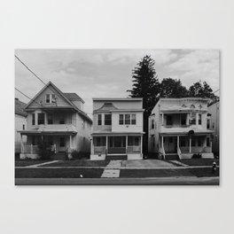 House // Albany, NY Canvas Print